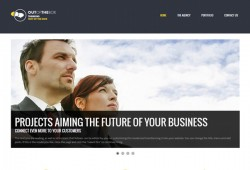 wordpress template for advertising agency