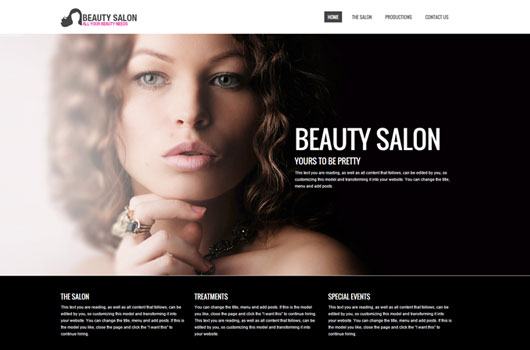 Beauity salon template
