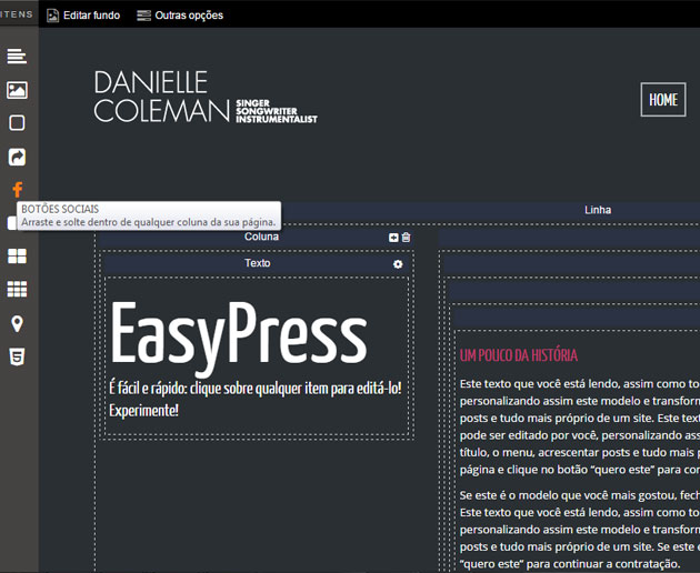 Editing with EasyPress