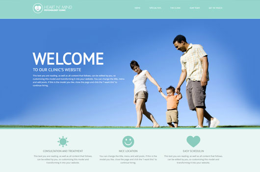 Health clinic template