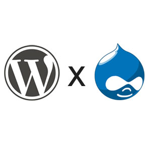 WordPress or Drupal